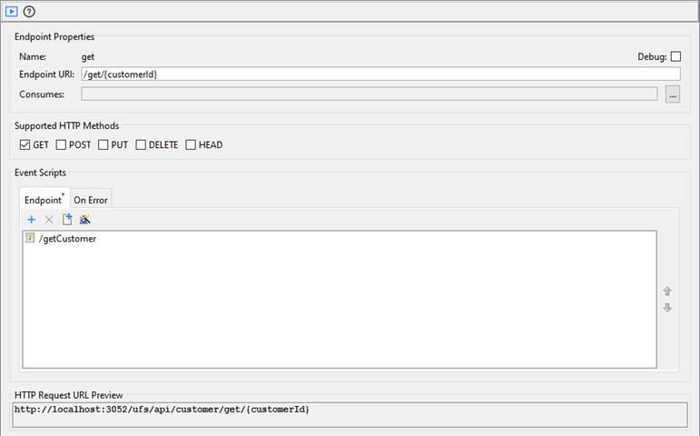 RESTful Web Service Endpoint Scripting